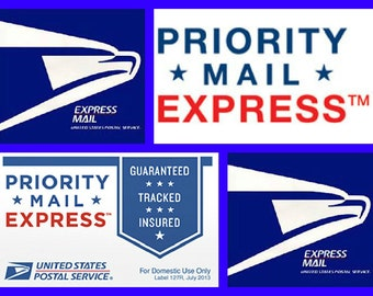 Priority Express SHIPPING for domestic packages