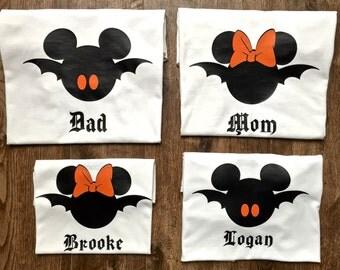 Halloween Family Disney Shirts, Halloween Disney Shirts, Family Disney Shirts