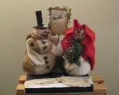 Snowman Decoration - Snowman Centerpiece