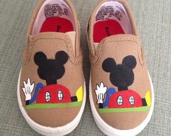 Personalized Mickey Mouse Clubhouse Shoes