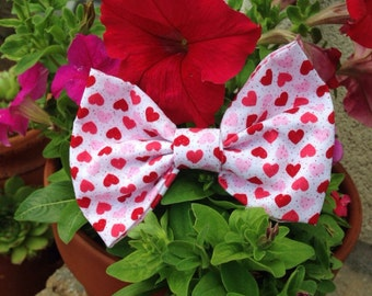 Valentines Day Hair Bow