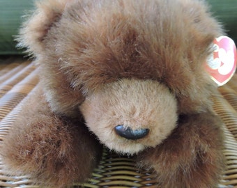 Ty Baby Paws - Style 5110 Stuffed Animal Bear Beanie Baby Pillow Pals