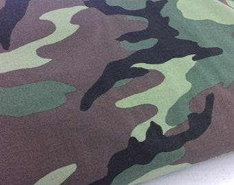 Windham Fabrics, 36383 1 Camo, shades of green, brown and black