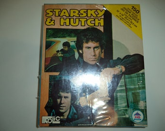 "Vintage 1976 Frolic HG Toys Starsky & Hutch 150 piece Jigsaw Puzzle Sealed Original Shrink 10"" x 14"""