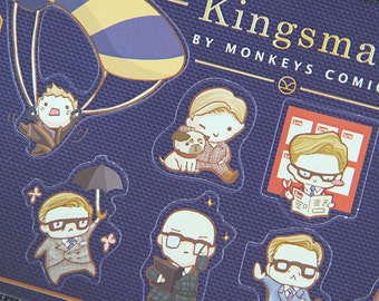 Kingsman the secret service Stickers