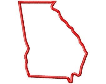 State of Georgia Applique