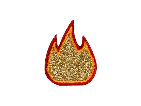 Iron on fire retardant patch