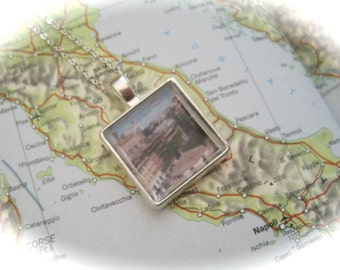 Memories of  the city of Rome Memory Necklace