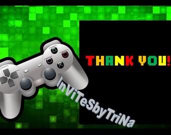 Gamer, Gaming Birthday Thank you