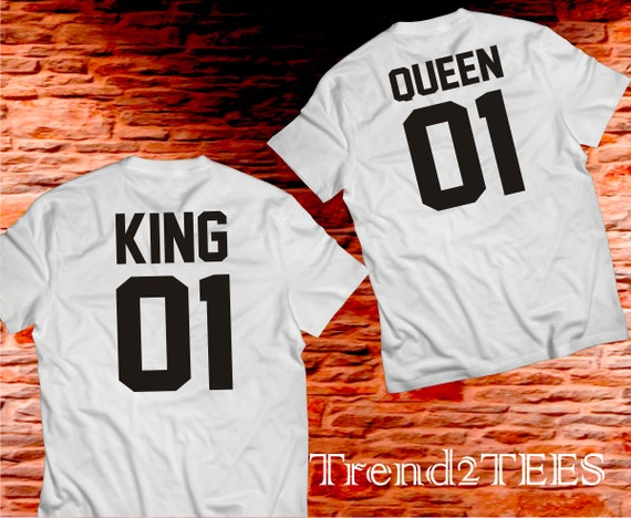 Kings Shirts King And Queen Couples Shirts