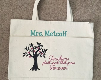 Teachers plant seeds that grow forever - tote