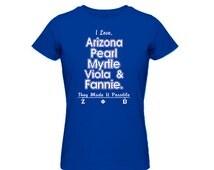 Zeta Phi Beta Sorority Founders T-shirt