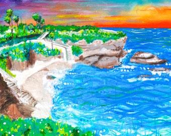 """La Jolla Cove 18""""x24"""" prints"""