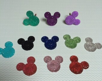 Sparkly Mickey Rings
