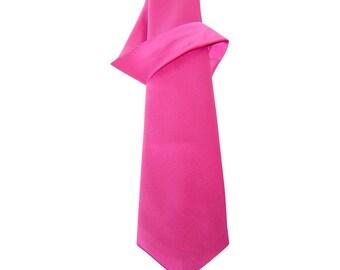 Fuchsia Straight Tie