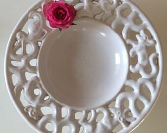 Michael Andersen, Bornholm Denmark, Large Vintage bowl, Danish Design