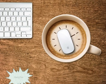 Coffee Mouse pad mouse mat mouse pads 3d mousepad