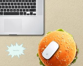 3D Hamburger Mouse pad mouse mat mouse pads 3d mousepad