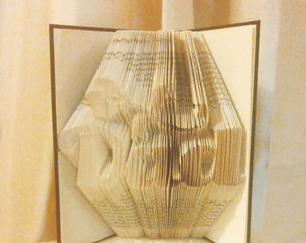 Dad Book Folding Pattern with Flower and Tutorial 468 pages  234 folds Father's Day, Birthday- Please read Listing PDF Files Only