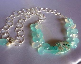 Teal Seas Necklace