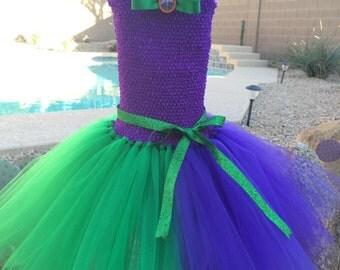 Joker Tutu Dress, Halloween Tutu Costume