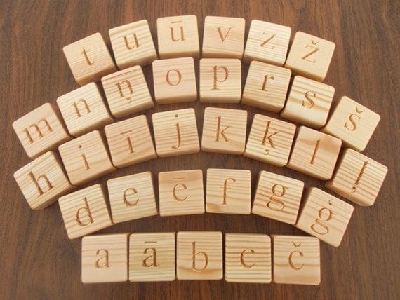 Latvian Alphabet Letters – HD Wallpapers