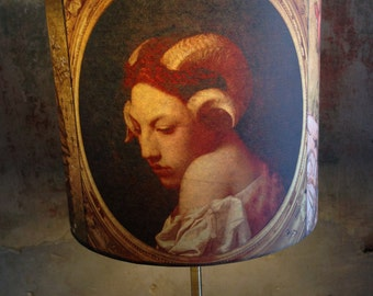 Oddity Baroque Freak Dark Decor Inspired Lampshade 'SHESSTRANGE'