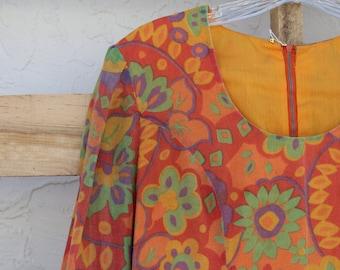 60s Flowerchild Dress