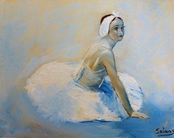 ballerina painting, canvas art, oil painting, dance art, canvas painting, ballerina on canvas, oil art, dance on canvas