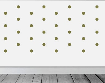 Polka Dot Wall Stickers , Wall Decals - Choose your size and colour