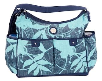 Nappy bag - Blue Oasis