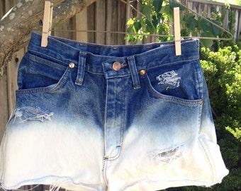 Wrangler ombre shorts