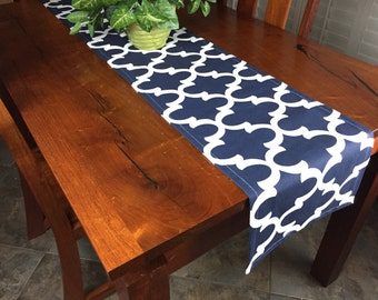 Table Runners - Navy Table Runners - Wedding Table Runners