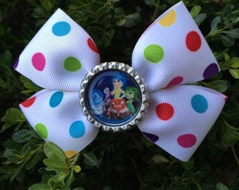 inside out hair bow