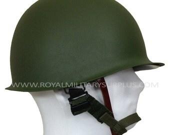 Helmet - M1 (US Army) - WW2 Replica (Steel) - OD (Olive Drab)