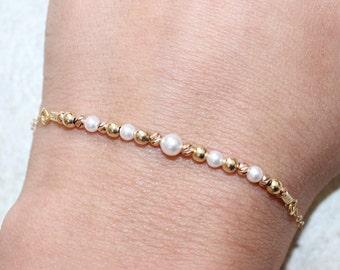 Bracelet, Pearl bracelet, Wedding bracelet