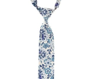 LIBERTY OF LONDON Skinny Print Tie floral Toddler and Child