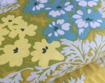 Picnic Bouquet Gold Heather Bailey Nicey Jane Fabric
