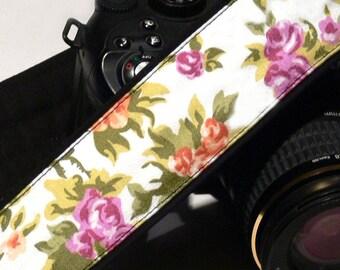 Flowers Camera Strap. Canon Nikon Camera Strap. Photo Camera Accessories