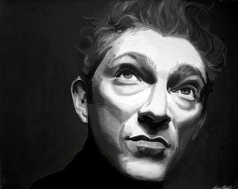 Vincent Cassel Fine Art Print (La Haine - Irréversible - Black Swan - Eastern Promises - French Cinema - Cool - Icon)