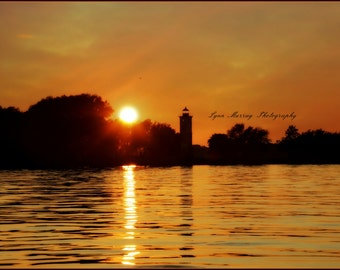 Landscape Photography, Sunset, Lighthouse, Silhouette