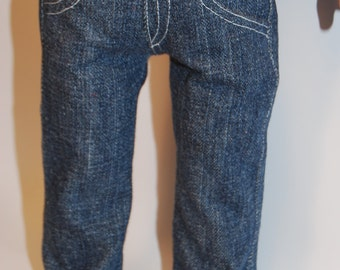 American Girl Doll Clothes, 18-inch Doll Clothes, Liberty Jane Jeans, AGD Clothes