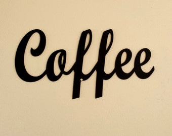 Coffee Metal Wall Art