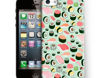 Sushi iPhone Case For iPhone 6 Plus Case,iPhone 6 Case,iPhone 5/5s Case,iPhone 5C Case,iPhone 4/4s Case,iPod Touch 5 Case