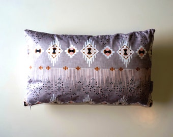"Rectangle Cushion Cover ""DreamCatcher Grey"""