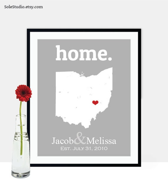 Cotton Wedding Anniversary Gift Ideas For Him : ... Anniversary Cotton for Him, Second Wedding Anniversary Gift Ideas, Map