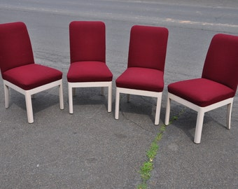 Four David Edward Company Occasional Chairs