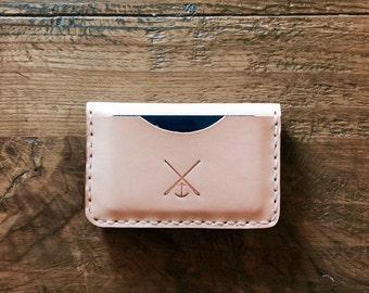 Leather wallet / card holder