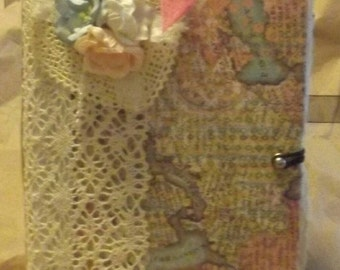Old lace Junk Journal