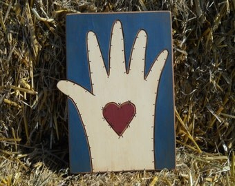 Heart and Hand Sign
